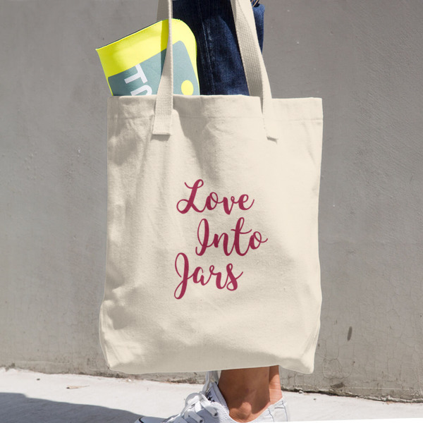 Love Into Jars Tote | For Canning Lovers Cotton Tote Bag- so cute!