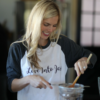 Love Into Jars Baseball Tee   Such cute shirts for canning lovers!