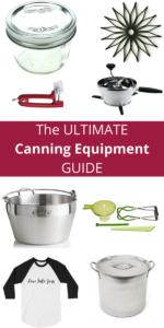 This is the Ultimate Canning Equipment Guide and it shares the tools that make both beginners and experienced canners alike enjoy their hobby even more...gift one of these items and I bet they will share a jar with you!